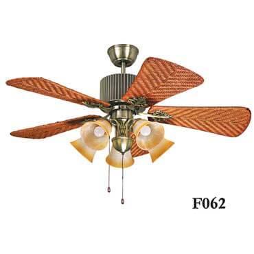 Quạt trần đèn cánh mây độc đáo FG F062
