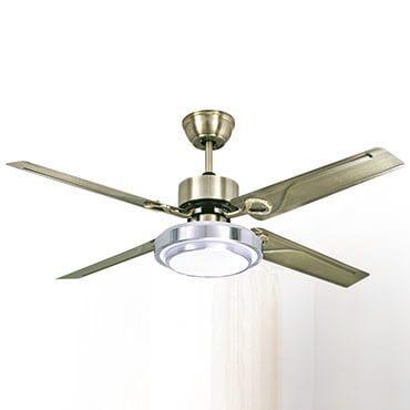 Quạt trần đèn LED cánh sắt FG L8605