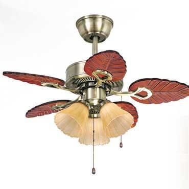 Quạt trần đèn nhập khẩu cánh gỗ FG022