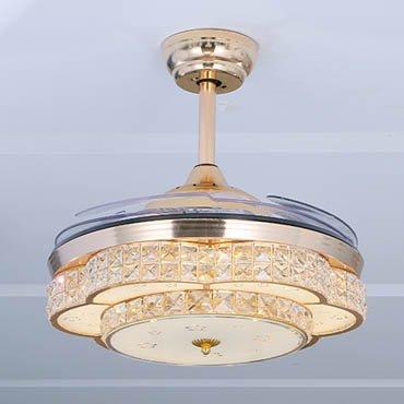 Quạt trần đèn phong cách sang trọng JC8099
