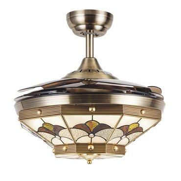 Quạt trần đèn thiết kế sang trọng JC8958