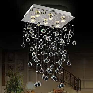 Đèn thả pha lê giọt nước DC8028-6