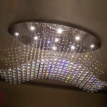 Đèn thả pha lê đẹp DC7005-9