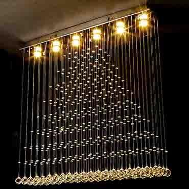 Đèn thả trần pha lê hiện đại DC8001