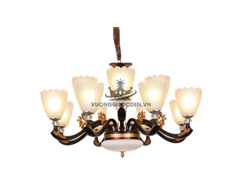 Đèn chùm trang trí hoa ly XMQ6016-1