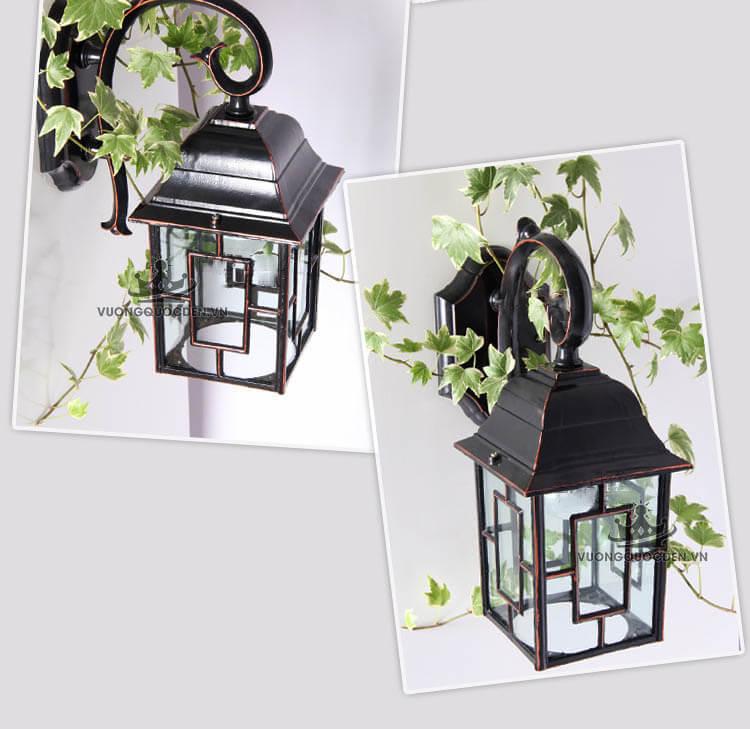 Gợi ý một số mẫu đèn treo tường ngoài trời hình hộp đẹp nhất hiện nay