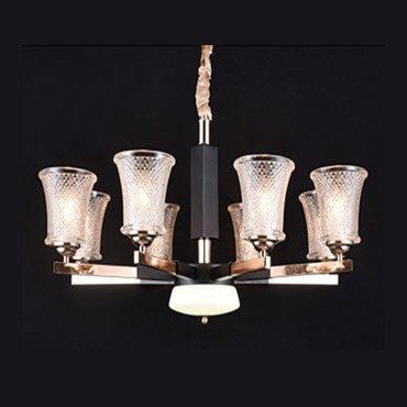 Đèn chùm thủy tinh đẹp hiện đại XMQ9905