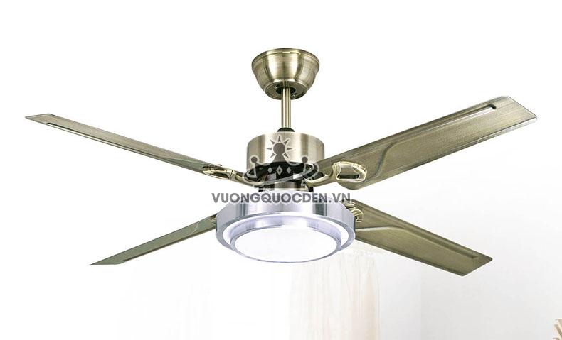 Sử dụng đèn quạt trần cao cấp cho chung cư, tại sao không?