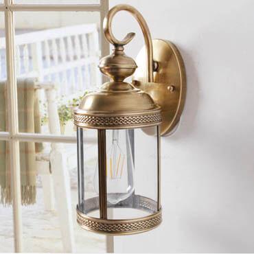 Tìm hiểu về dòng sản phẩm đèn gắn tường ngoài trời bằng đồng