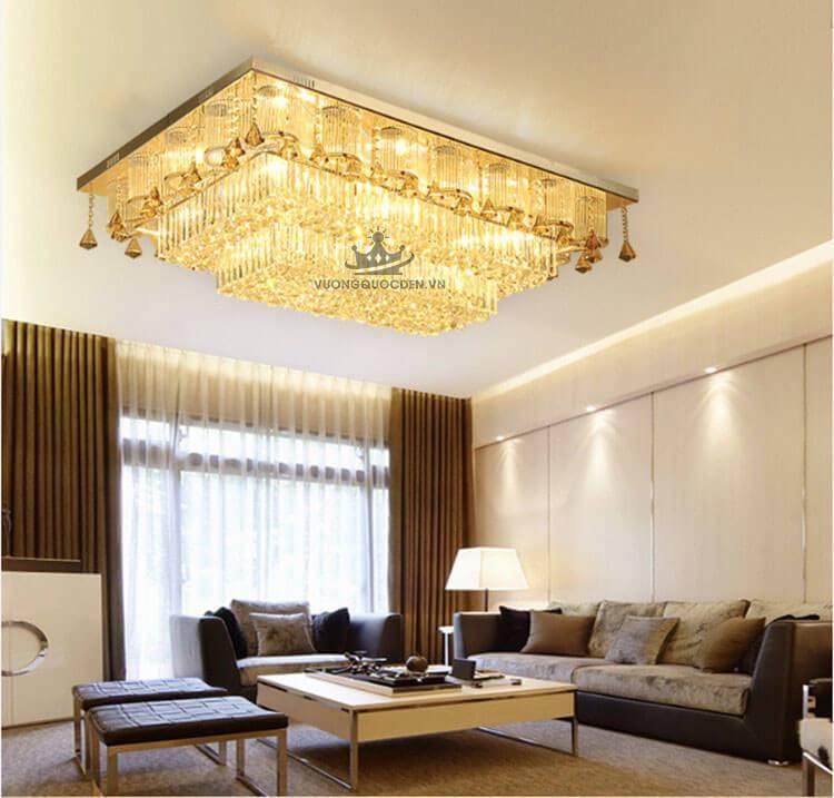 Xem ngay bộ sưu tập đèn ốp trần cho phòng khách chung cư đang gây sốt 2020