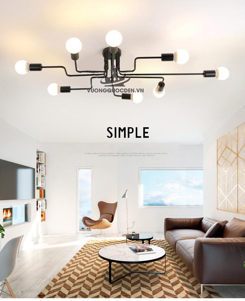 Xem ngay bộ sưu tập đèn ốp trần cho phòng khách chung cư đang gây sốt 2018