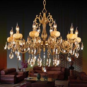 Mách bạn cách chọn đèn trang trí phù hợp với sofa phòng khách