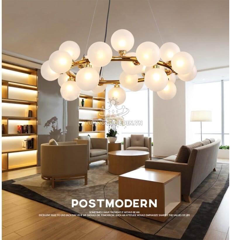 7 mẫu đèn thả trang trí nội thất phổ biến nhất hiện nay