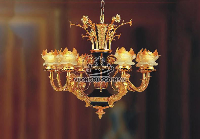 Bật mí những kiểu đèn trang trí phòng thờ trang nhã tôn nghiêm