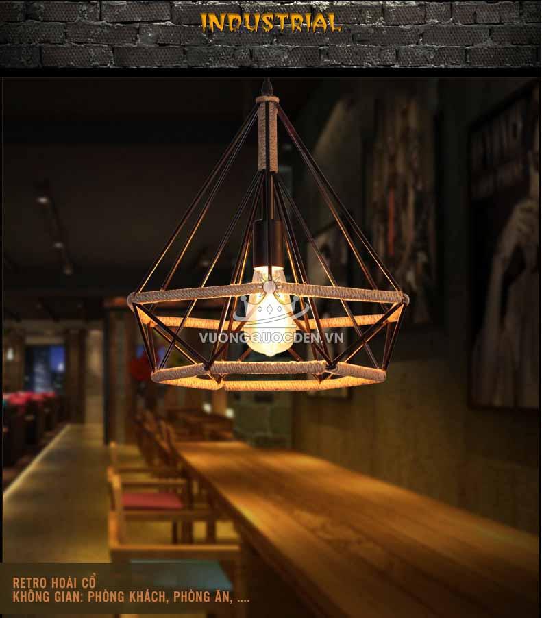 Mách mẹo chọn đèn thả trang trí quầy bar sang trọng, vạn người mê