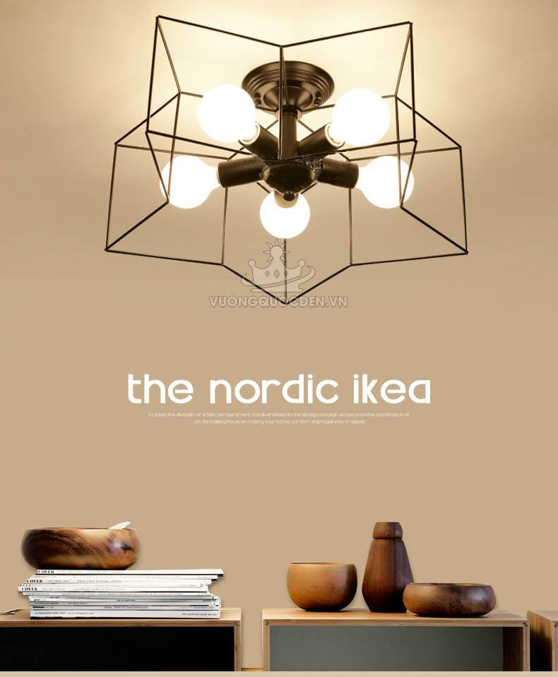 Hoàn thiện vẻ đẹp cho ngôi nhà với đèn ốp trần ban công đẹp