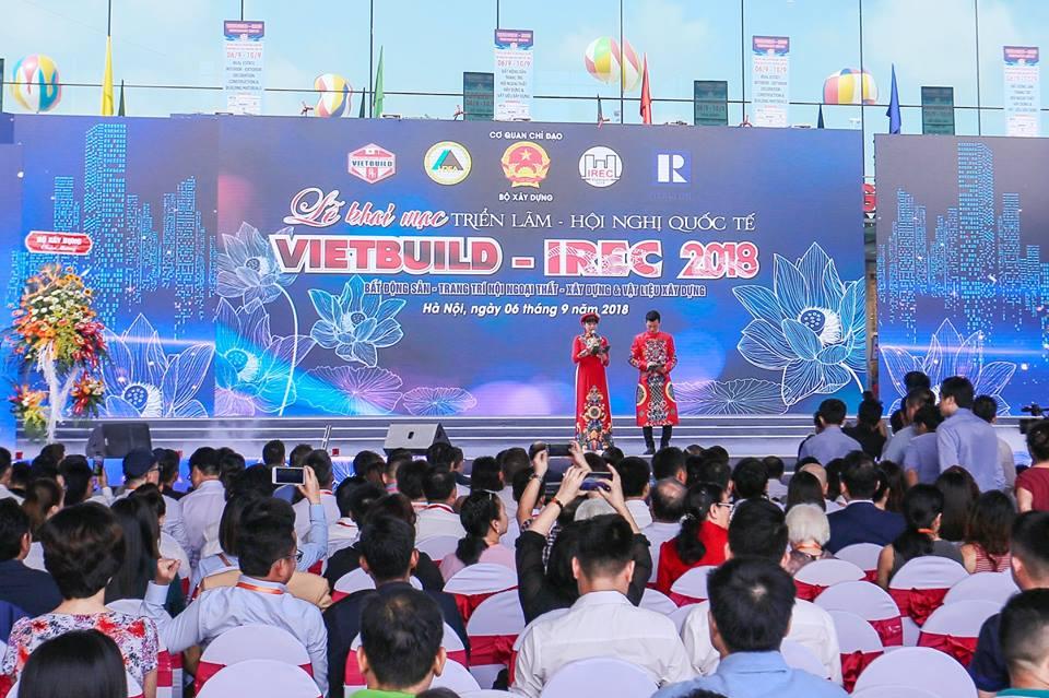 Vương Quốc Đèn với Hội trợ triển lãm quốc tế VietBuild 2018 – Lần 2