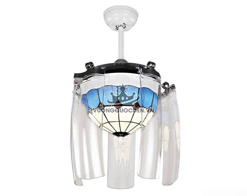 Những mẫu quạt trần đèn thu cánh đẹp lạ cho ngôi nhà bạn