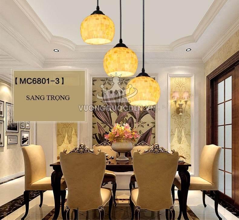Một số mẫu đèn trang trí nội thất dành riêng cho phòng ăn nhỏ