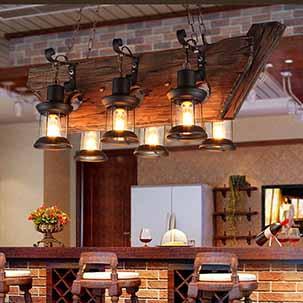 Lí giải sức hút của các loại đèn trang trí nội thất bằng gỗ?