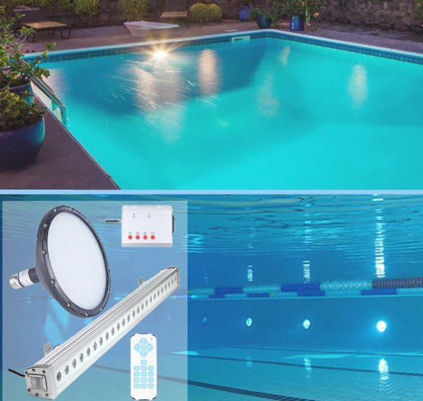 Tìm hiểu về các loại đèn sân vườn trang trí hồ bơi HOT nhất hiện nay