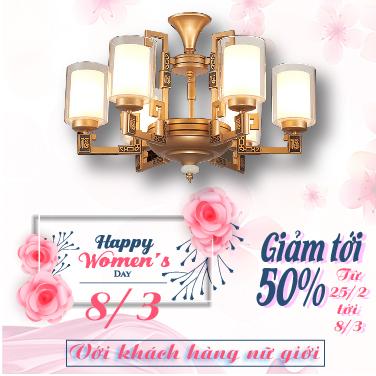 Dịp 8/3 – nhận quà HOT giảm giá cực sốc đến 50% với Vương Quốc Đèn