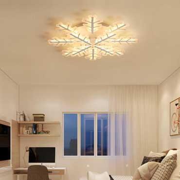 Decor phòng ngủ đẹp lãng mạn như resort nhờ đèn trang trí bóng led hiện đại