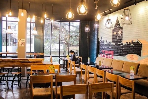 Nguyên tắc thiết kế đèn thả quán café cho không gian hiện đại