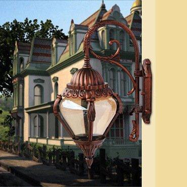 Trang trí mặt tiền biệt thự bằng những loại đèn sân vườn nhập khẩu nào?