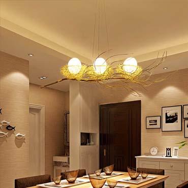 Xu hướng sử dụng đèn trang trí cho phòng ăn ngày nay
