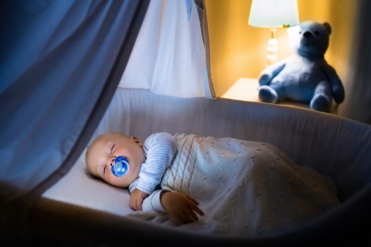 Giải đáp những thắc mắc khi sử dụng đèn ngủ cho trẻ sơ sinh