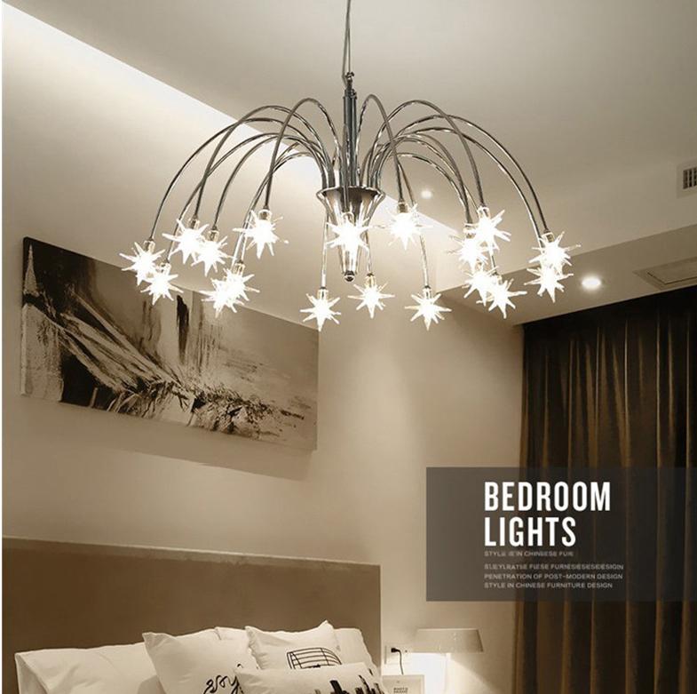 Đi tìm câu trả lời cho thắc mắc có nên treo đèn chùm trong phòng ngủ không?