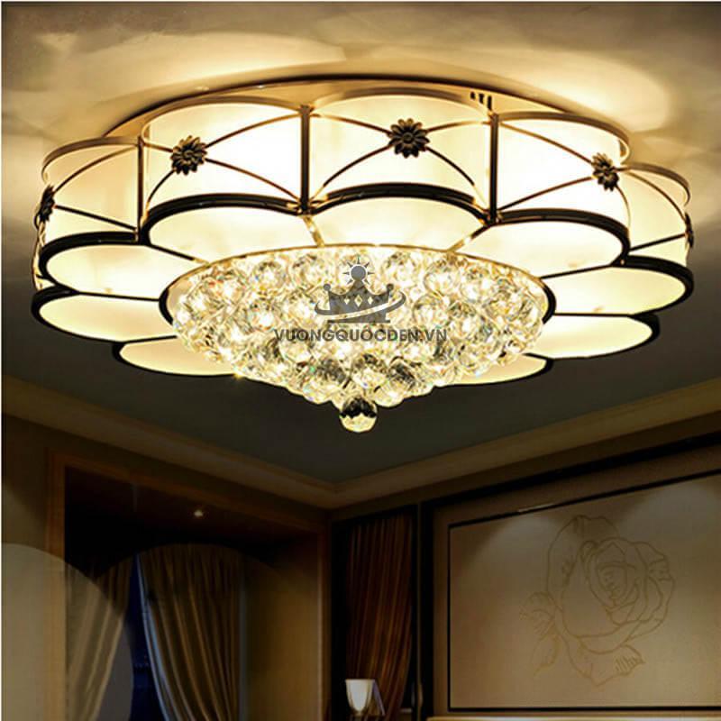 Bỏ túi những nguyên tắc cơ bản trong cách chọn đèn trang ốp trần cho từng căn phòng