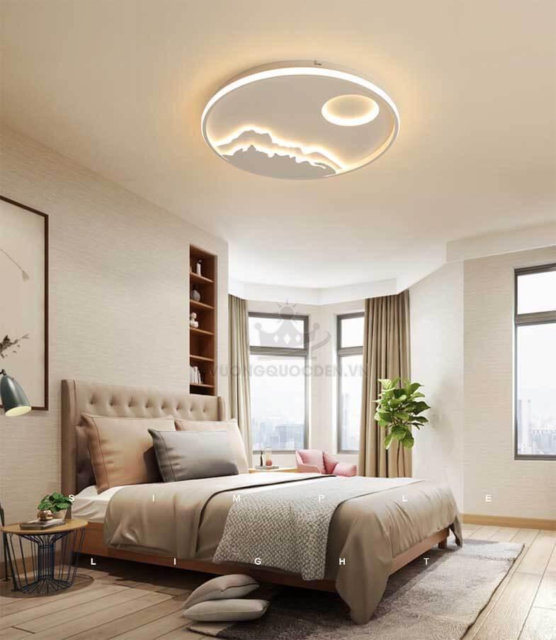 Những không gian thích hợp để lắp đặt đèn led mâm tròn