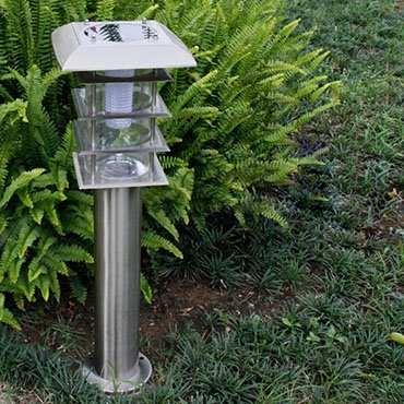 Đèn năng lượng mặt trời sân vườn ROL323
