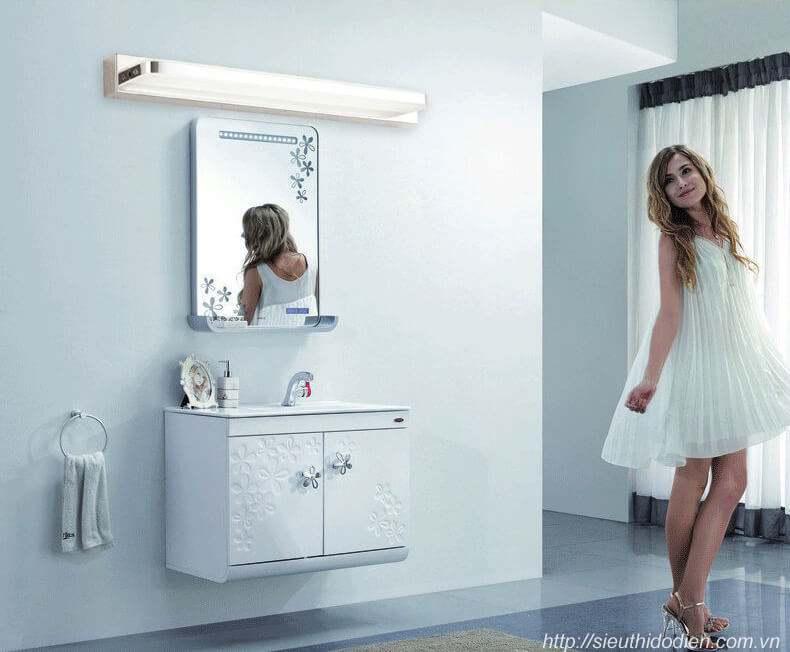 Lắp đặt đèn soi gương phòng tắm bạn cần lưu ý những vấn đề gì?