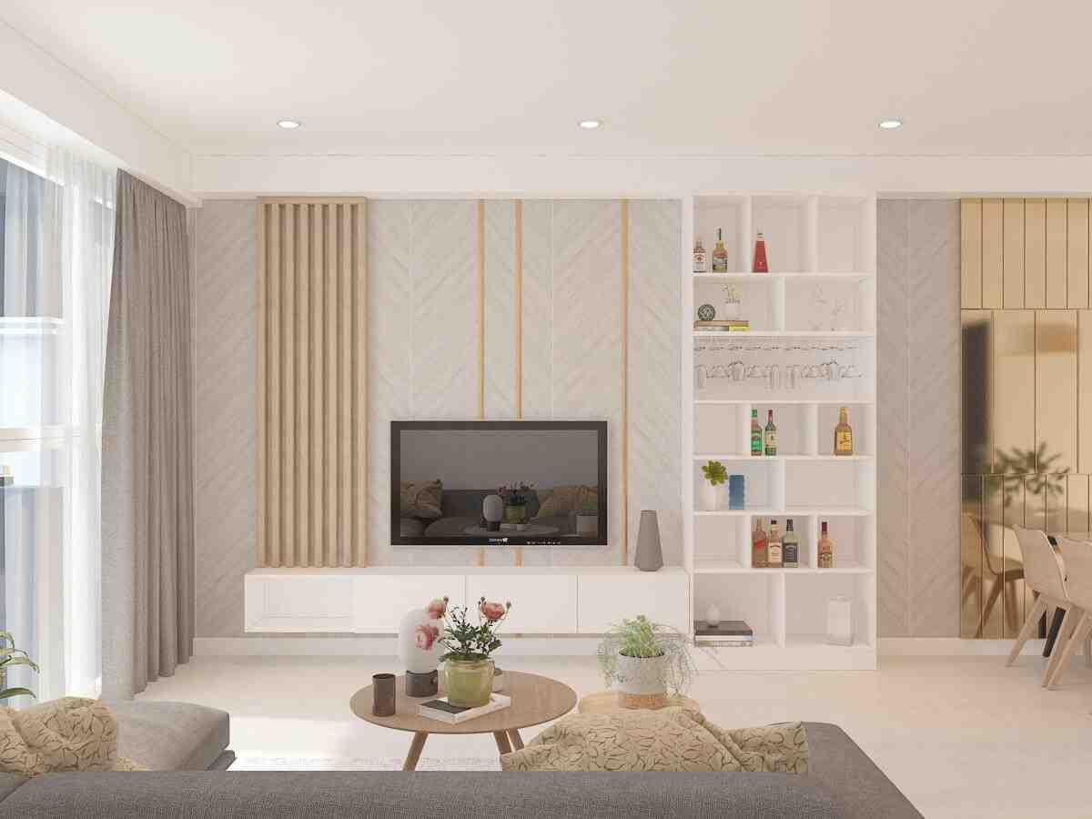Thiết kế nội thất phòng khách chung cư, bạn cần ghi nhớ những lưu ý này