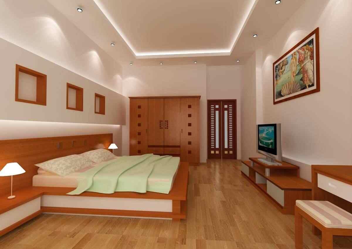 Gợi ý 10 mẫu thiết kế nội thất nội thất phòng ngủ nhà ống