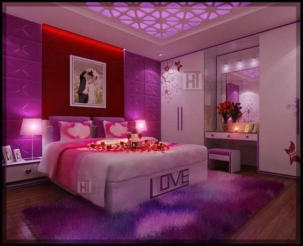 10 mẫu đèn trang trí phòng ngủ cho các cặp đôi mới cưới