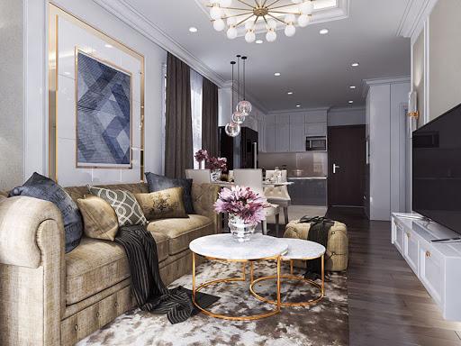 Gợi ý 5 mẫu thiết kế nội thất tân cổ điển cho nhà chung cư Hot nhất năm 2020