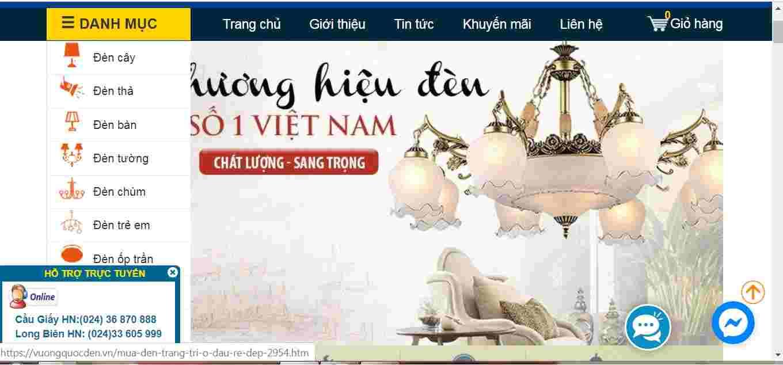 Giới thiệu địa chỉ mua đèn trang trí uy tín số 1 Đà Nẵng