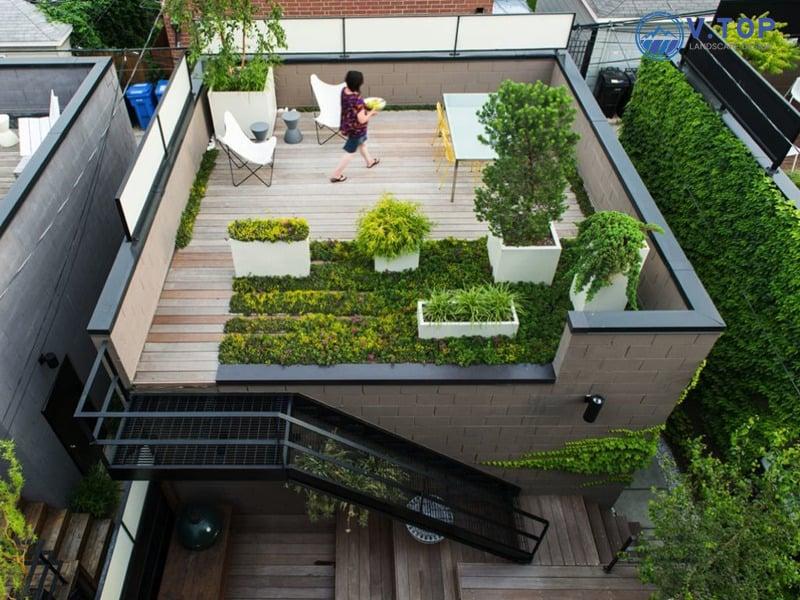Những ý tưởng trang trí sân thượng vừa đẹp mắt vừa dễ thực hiện
