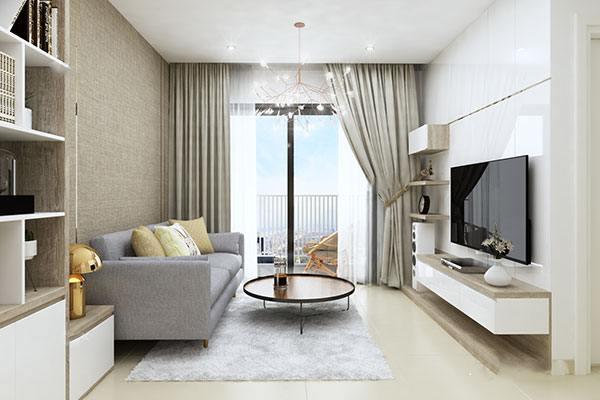 """Gợi ý 11 ý tưởng thiết kế nội thất giúp phòng khách chung cư nhỏ """"ăn gian"""" diện tích"""