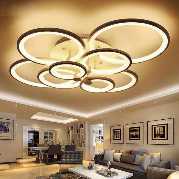 HOT: 20 mẫu đèn trang trí cho trần nhà thấp giúp nhà thêm rộng rãi