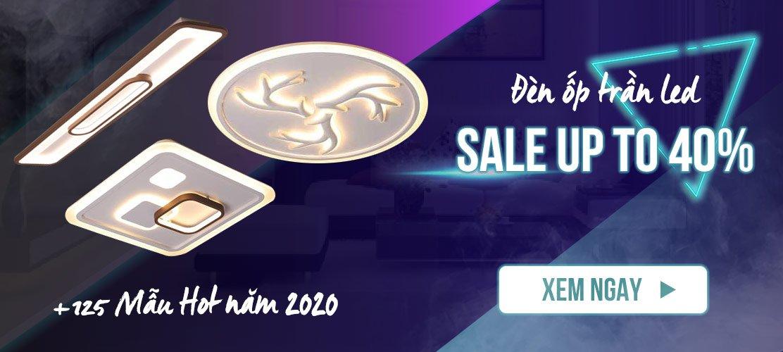 Đèn ốp trần led sale up to 40%