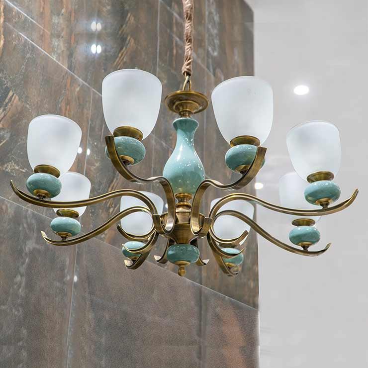 Đèn chùm thủy tinh nghệ thuật APB6583