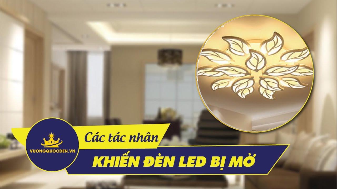 Các tác nhân khiến bóng LED bị mờ có thể bạn chưa biết