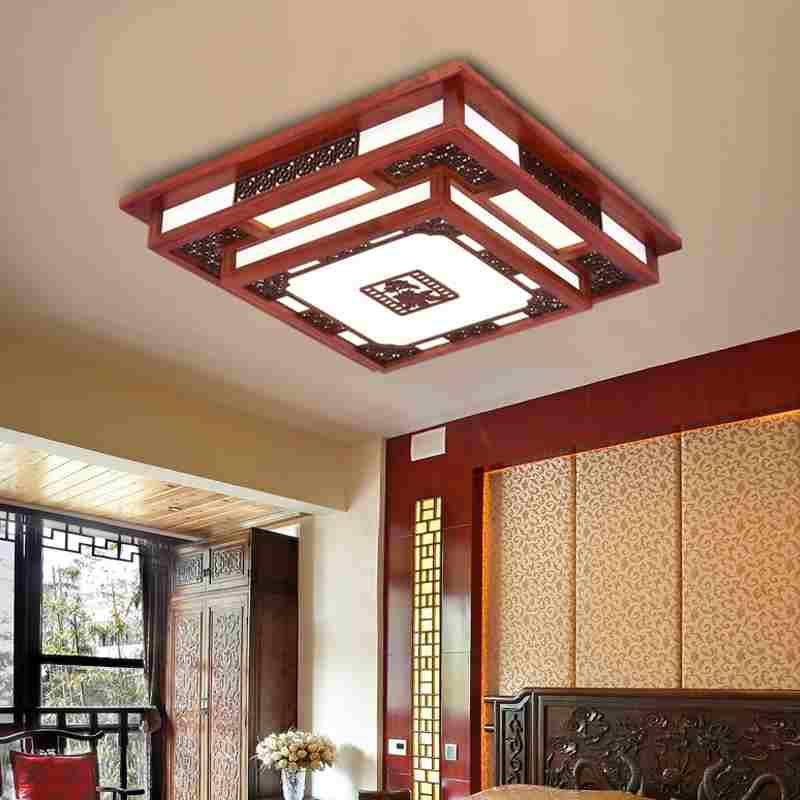 Những thông tin từ A-Z về đèn ốp trần gỗ