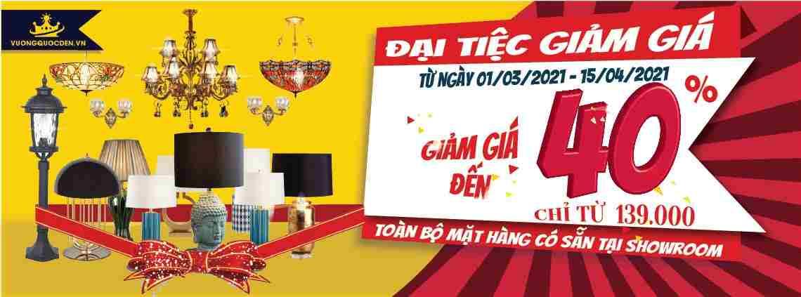 Đại tiệc giảm giá, săn đèn siêu rẻ chỉ từ 139.000 đồng