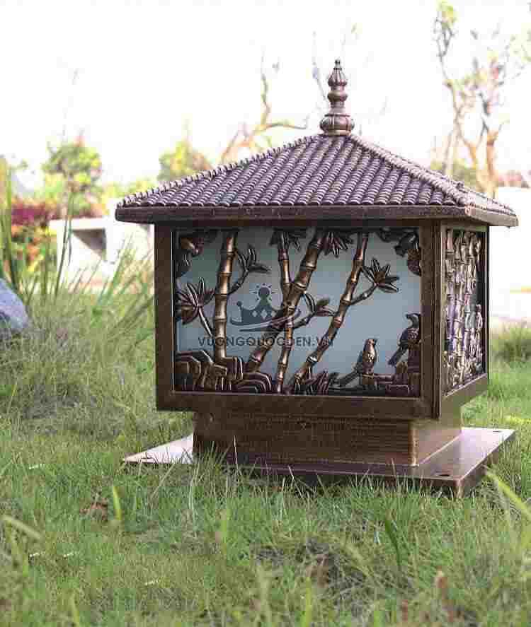 Top 8 mẫu đèn trụ cổng vuông giá rẻ, cực đẹp tại Vương Quốc Đèn